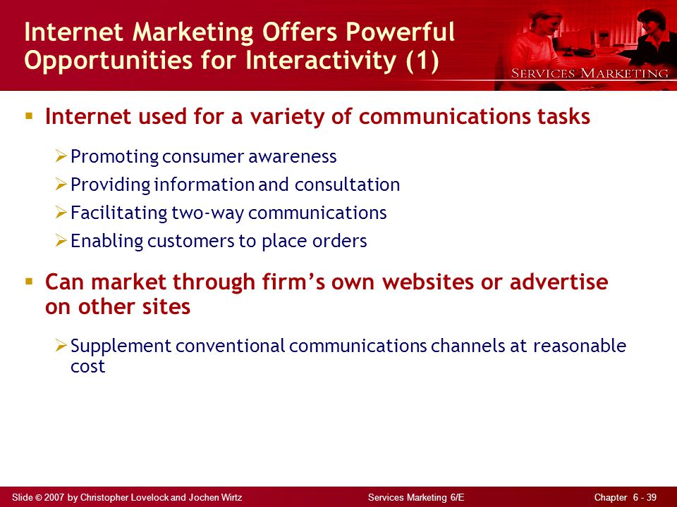 Internet Marketing Offers Powerful Opportunities for Interactivity (1)