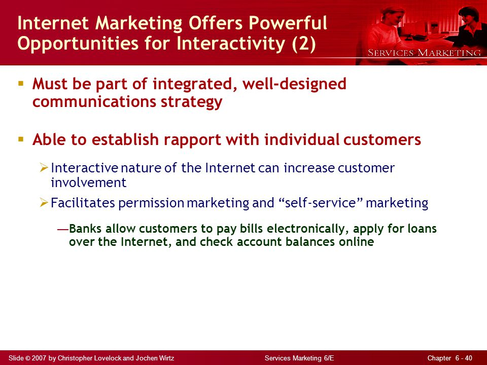 Internet Marketing Offers Powerful Opportunities for Interactivity (2)