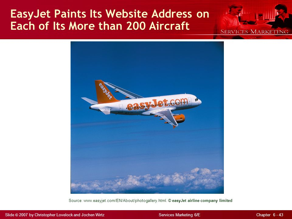 EasyJet Paints Its Website Address on Each of Its More than 200 Aircraft