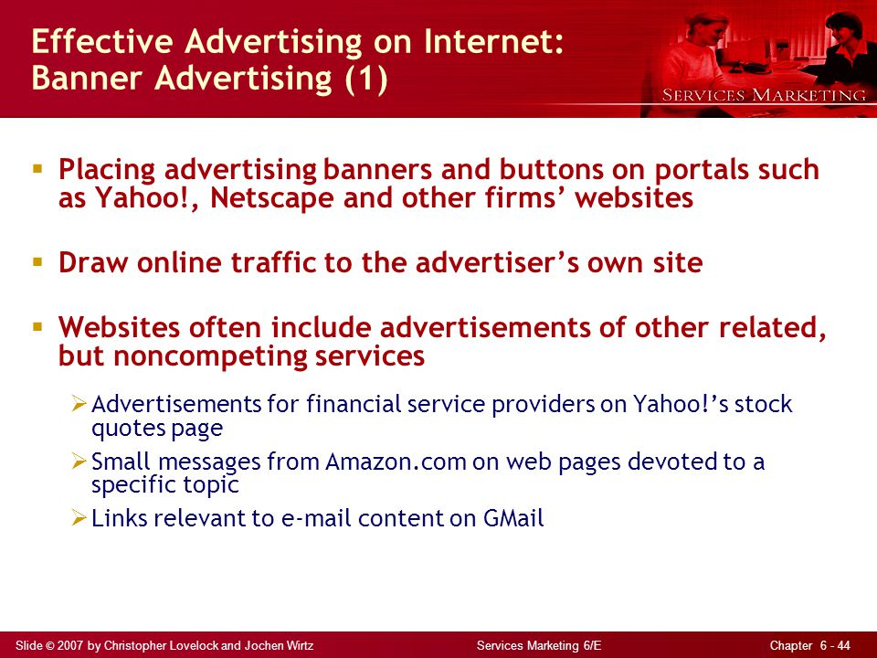 Effective Advertising on Internet: Banner Advertising (1)