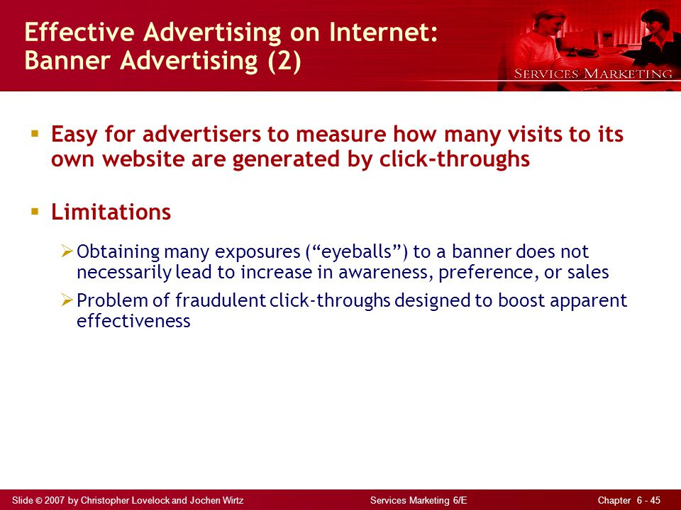 Effective Advertising on Internet: Banner Advertising (2)