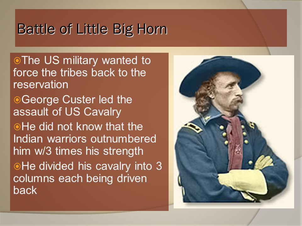 Battle of Little Big Horn