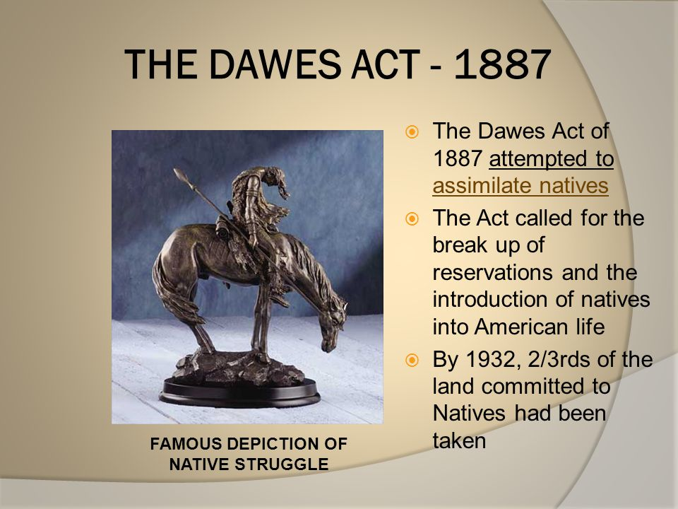 FAMOUS DEPICTION OF NATIVE STRUGGLE