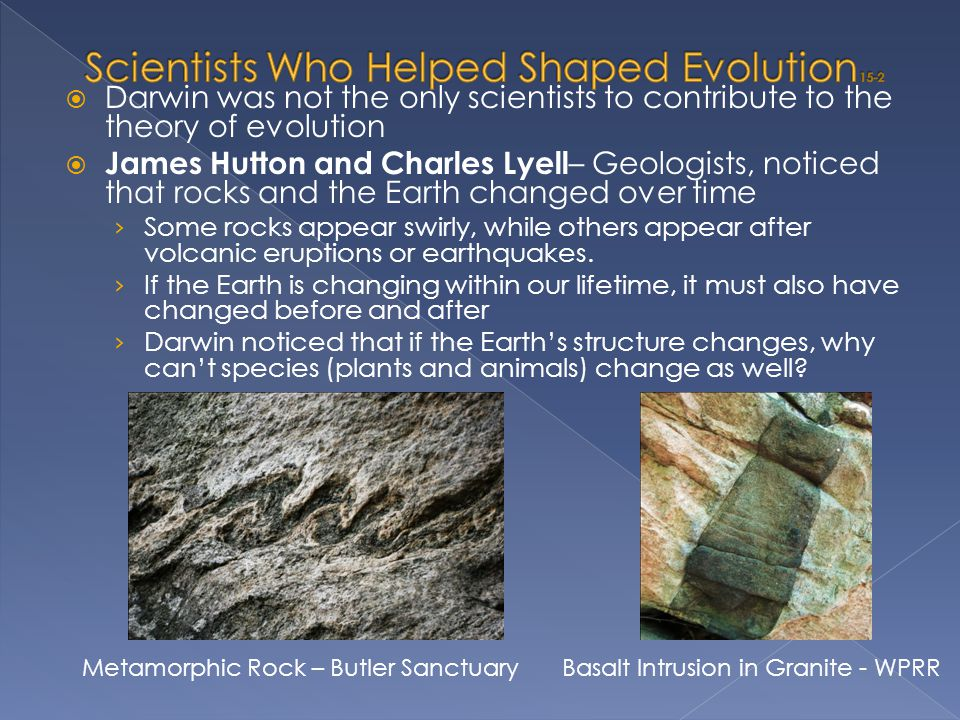 Scientists Who Helped Shaped Evolution 15-2