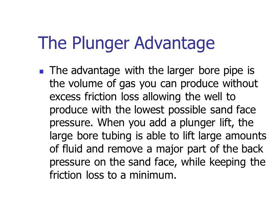 The Plunger Advantage