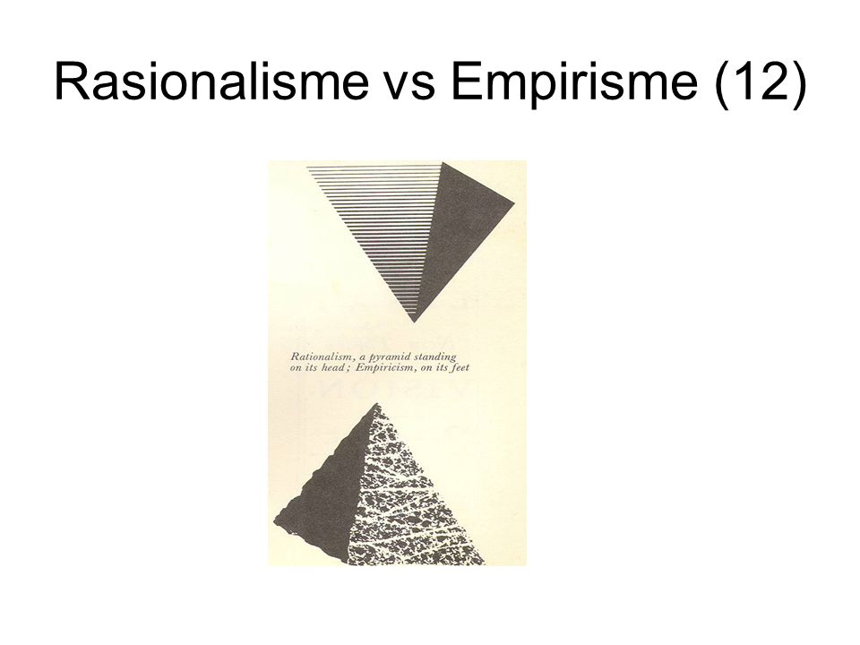 Rasionalisme vs Empirisme (12)