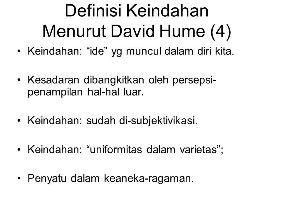 Definisi Keindahan Menurut David Hume (4)