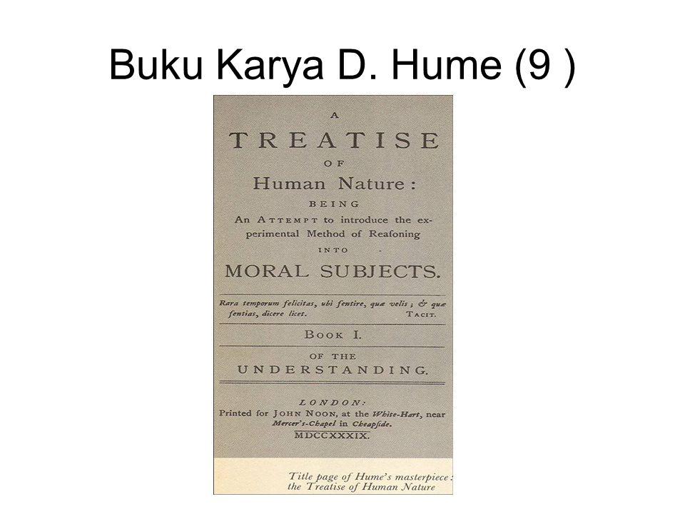 Buku Karya D. Hume (9 )