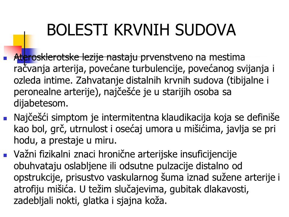 BOLESTI KRVNIH SUDOVA