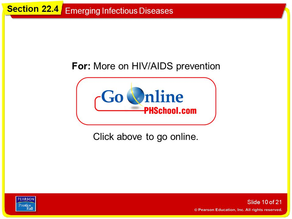 For: More on HIV/AIDS prevention