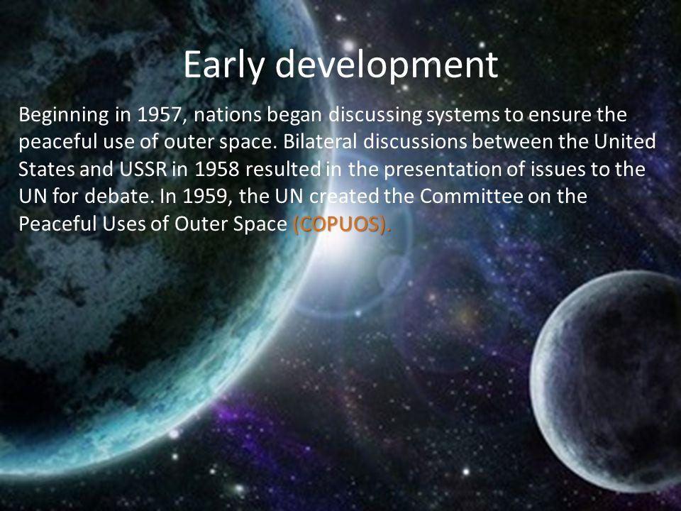 Early development