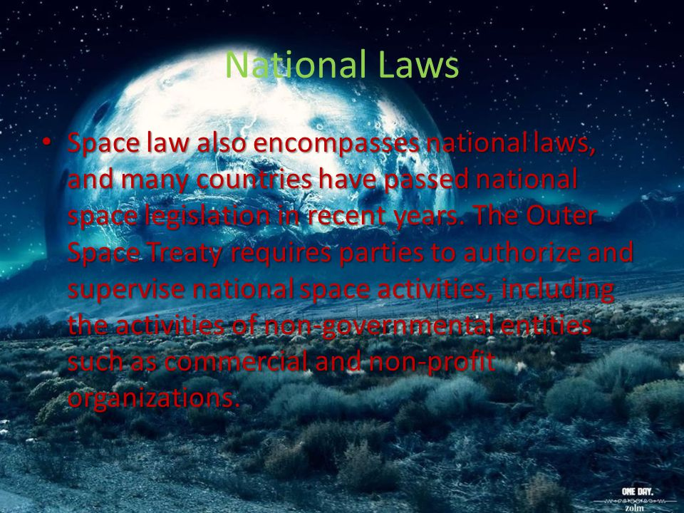 National Laws