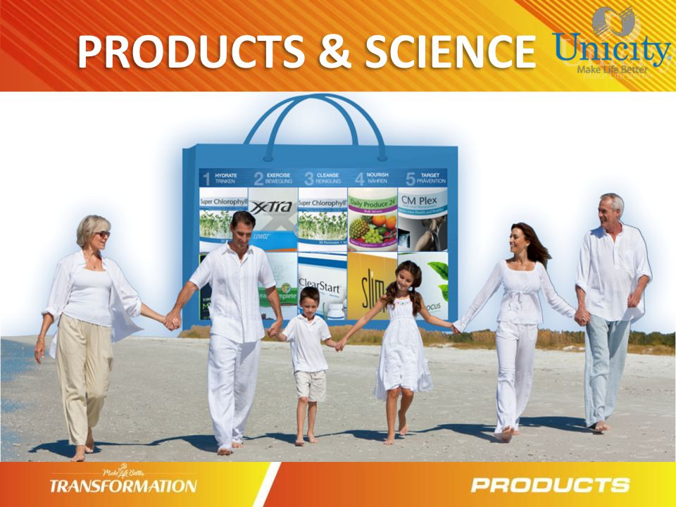 PRODUCTS & SCIENCE