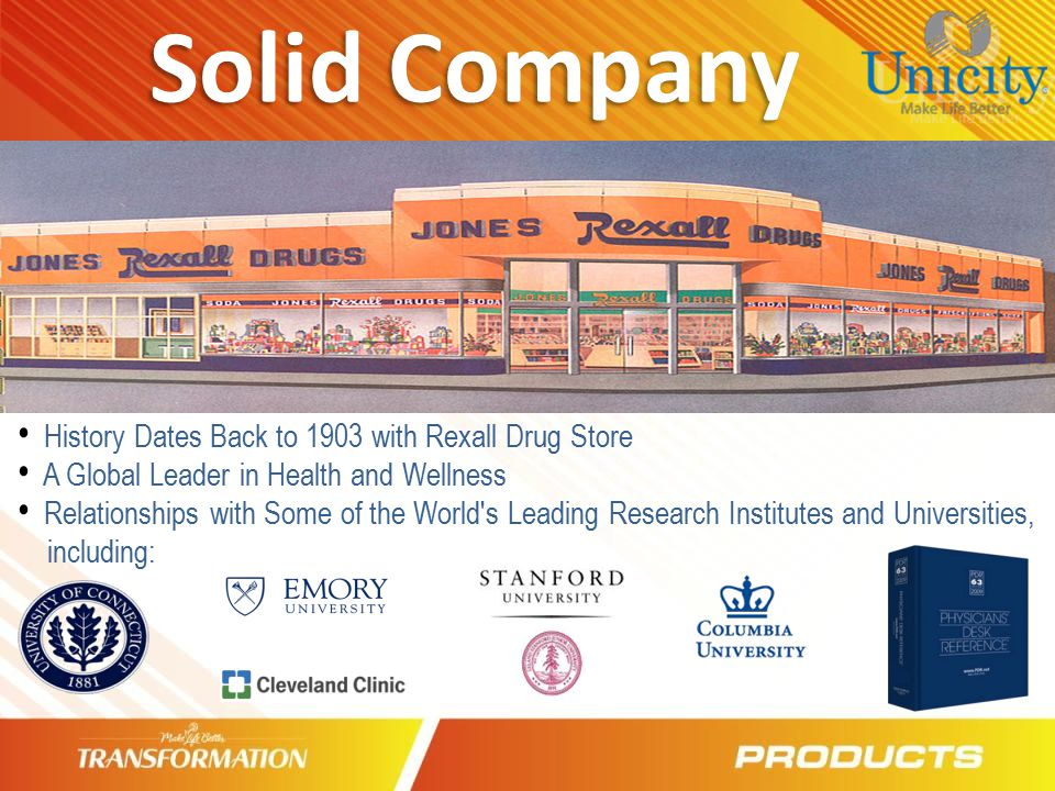 Solid Company History Dates Back to 1903 with Rexall Drug Store