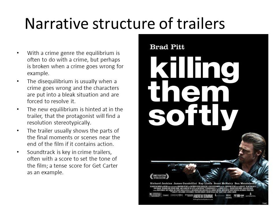 Narrative structure of trailers