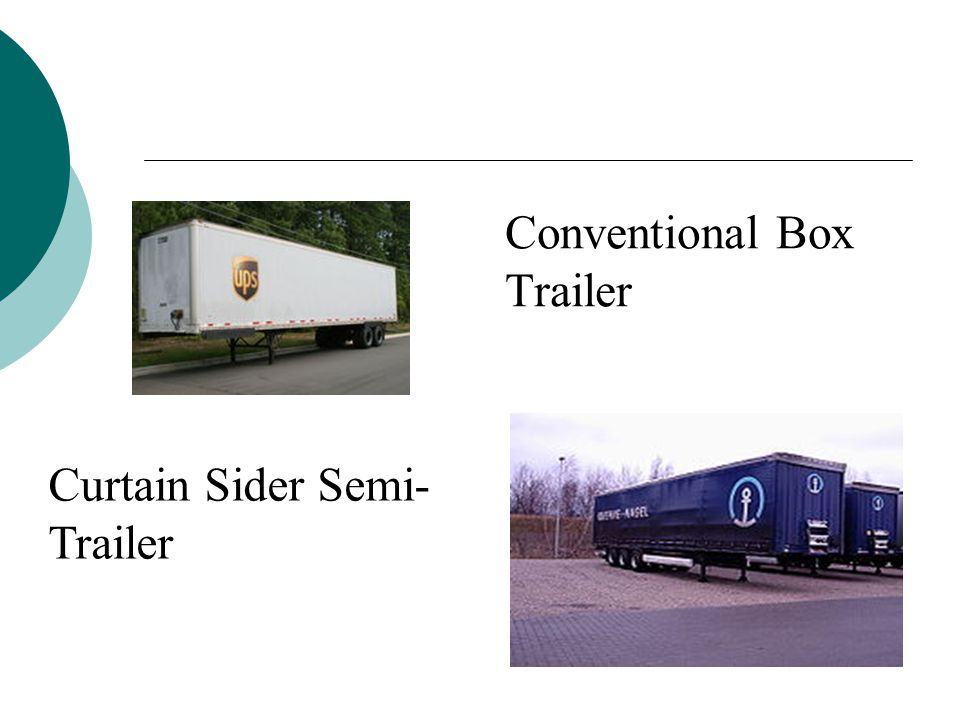Conventional Box Trailer