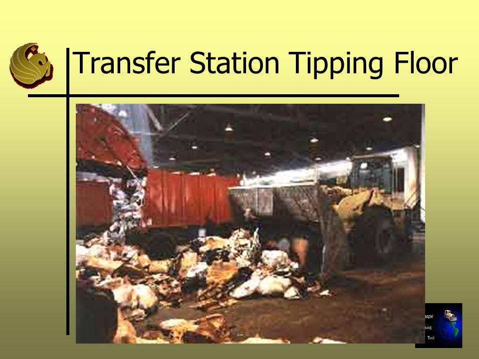 Transfer Station Tipping Floor