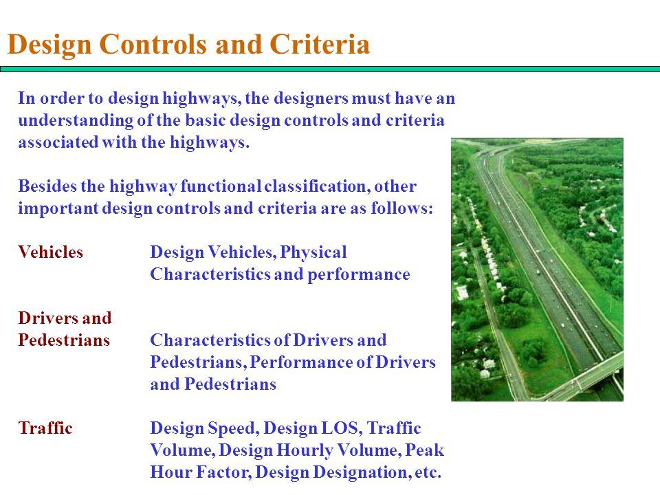 Design Controls and Criteria