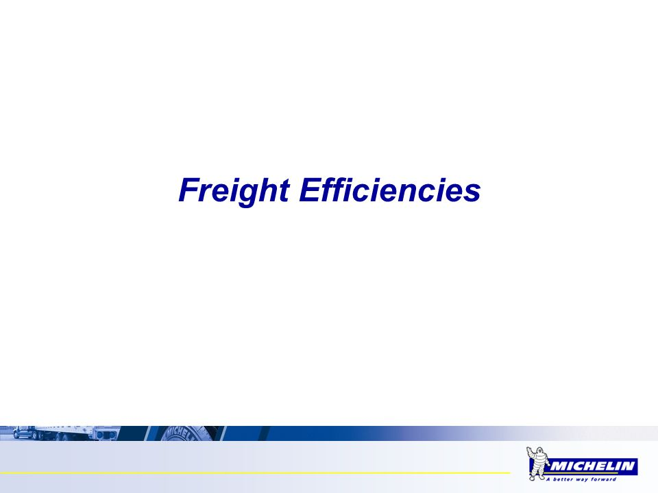 Freight Efficiencies