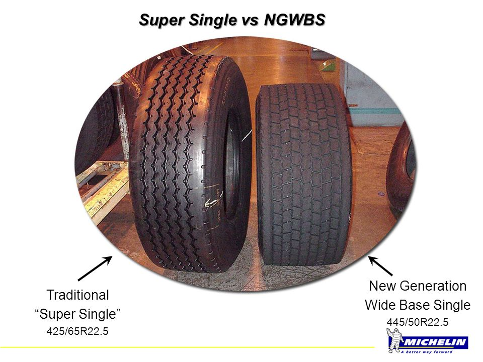Super Single vs NGWBS New Generation Traditional Wide Base Single