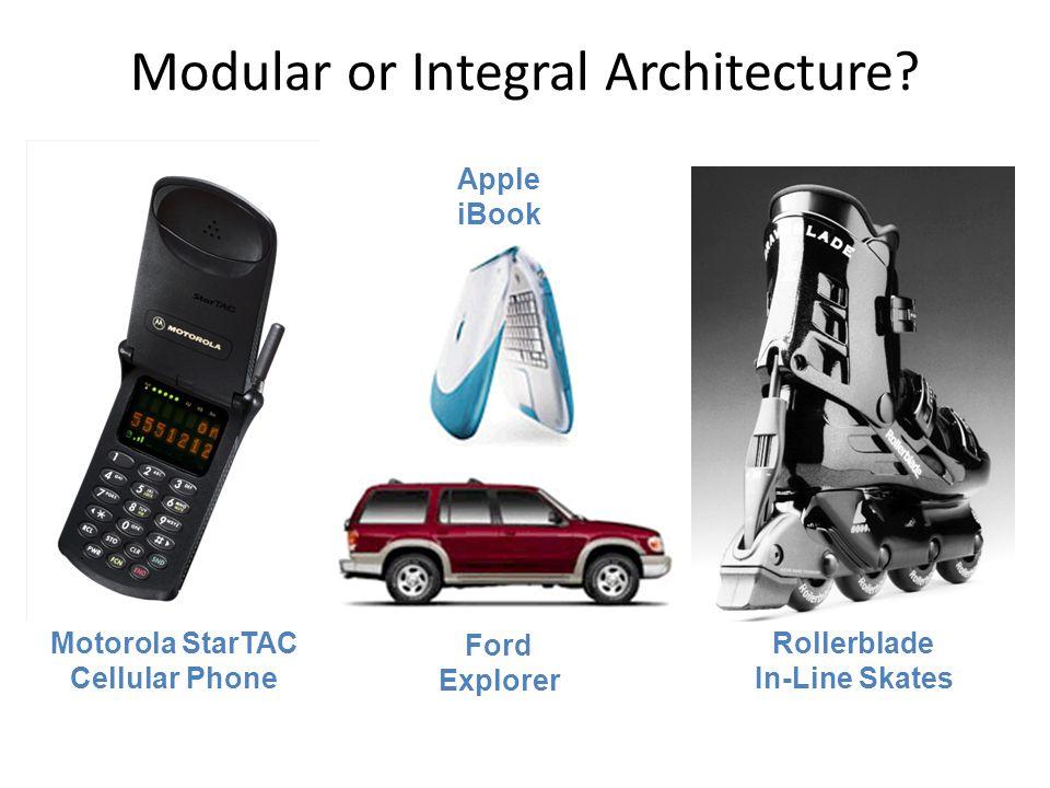 Modular or Integral Architecture