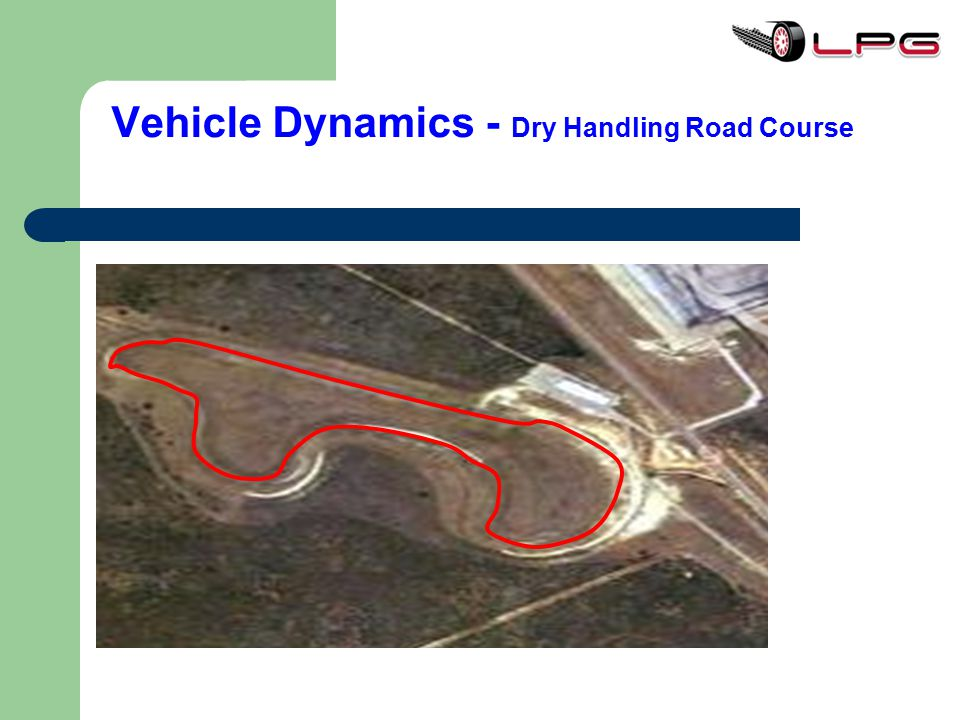 Vehicle Dynamics - Dry Handling Road Course