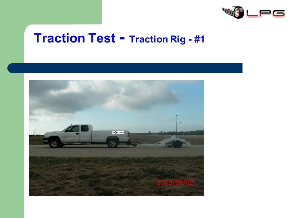 Traction Test - Traction Rig - #1