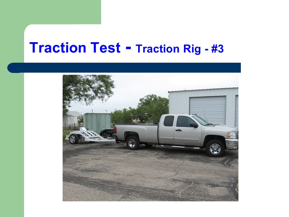 Traction Test - Traction Rig - #3