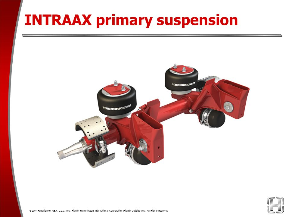 INTRAAX primary suspension
