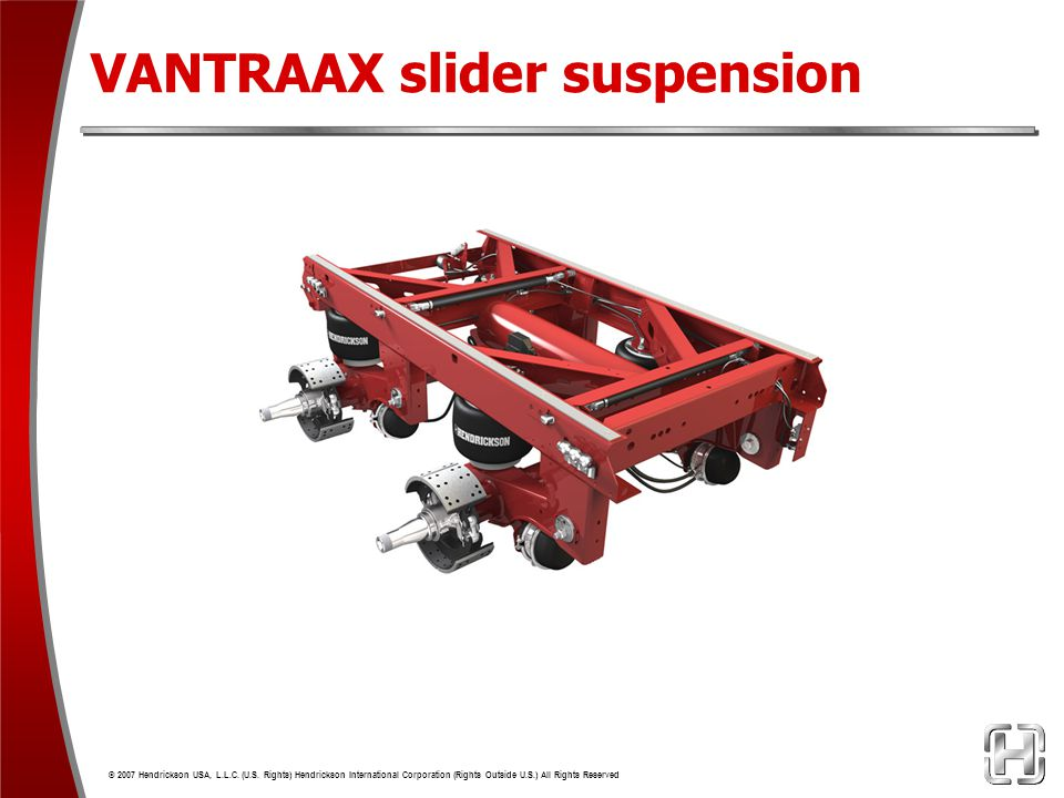 VANTRAAX slider suspension
