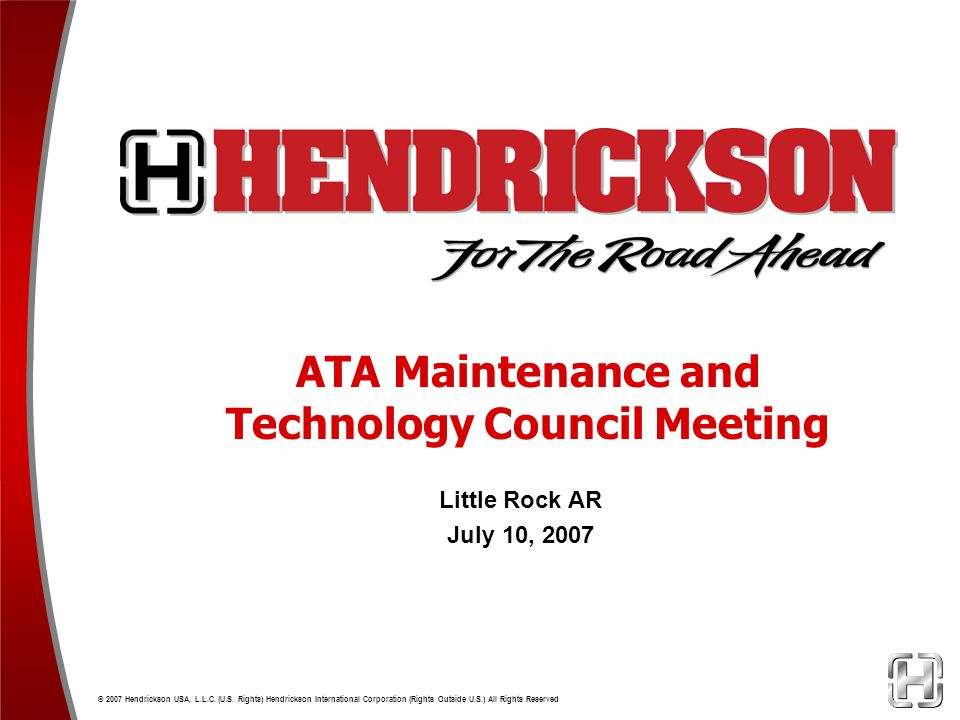ATA Maintenance and Technology Council Meeting
