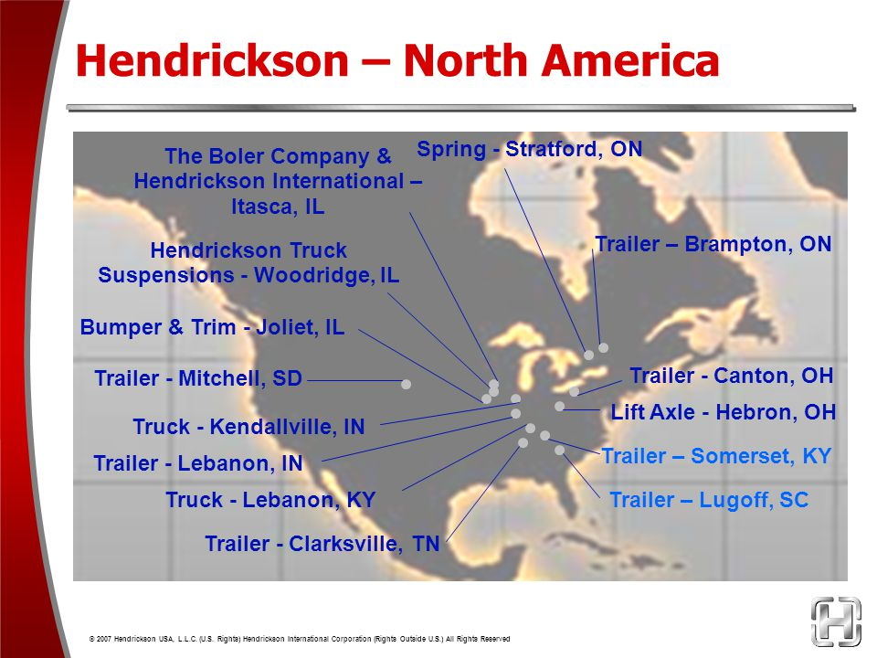 Hendrickson – North America