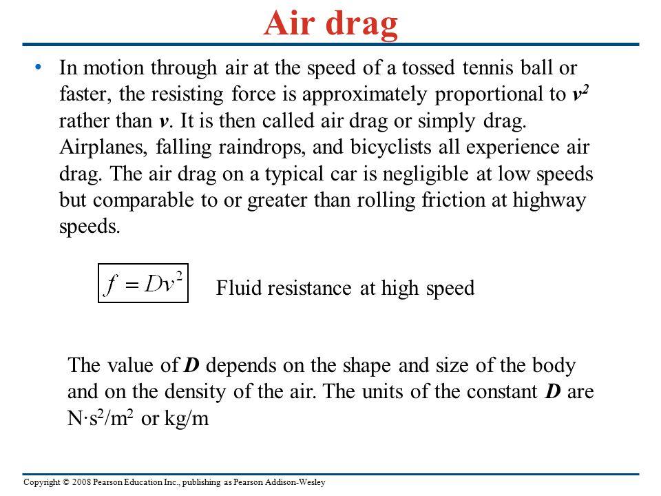 Air drag