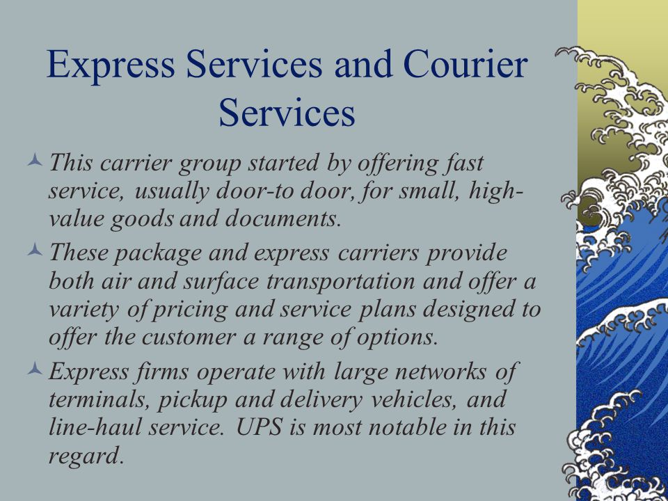 Express Services and Courier Services
