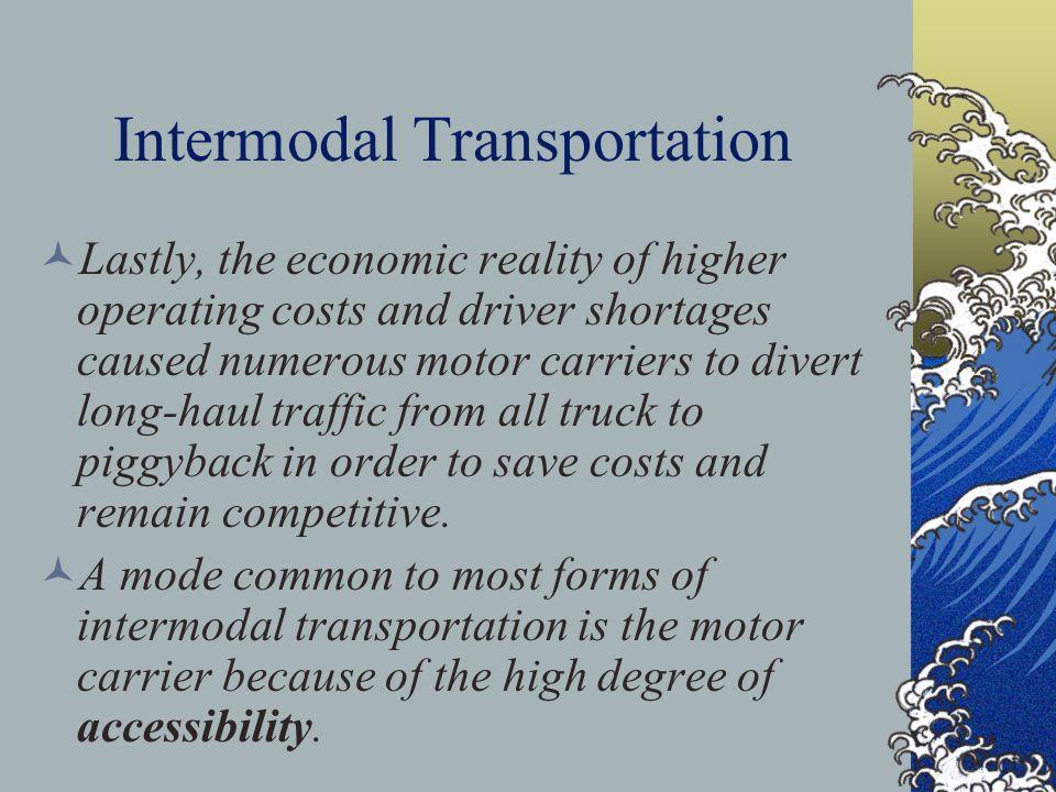 Intermodal Transportation