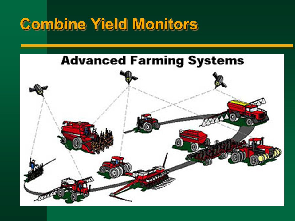 Combine Yield Monitors