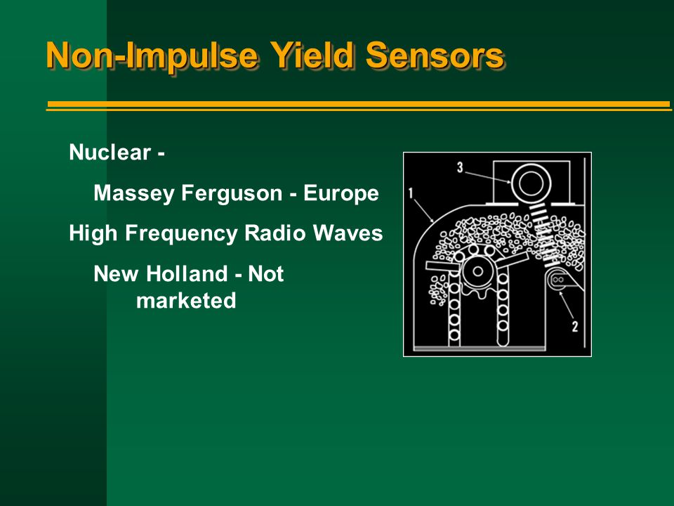 Non-Impulse Yield Sensors