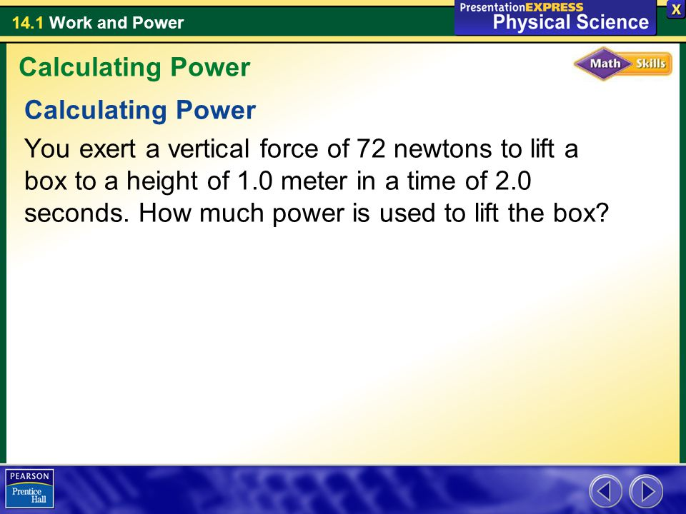 Calculating Power Calculating Power.