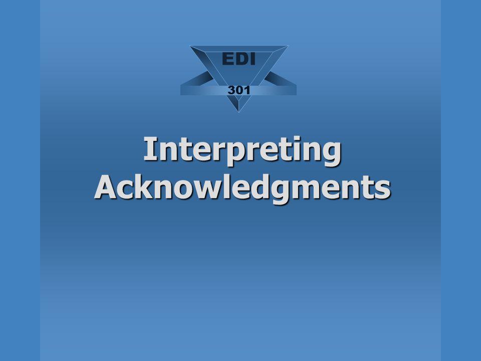 Interpreting Acknowledgments