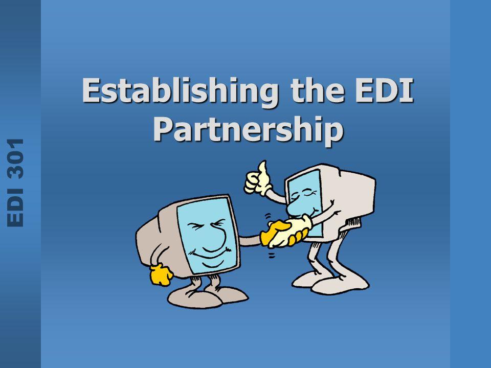 Establishing the EDI Partnership