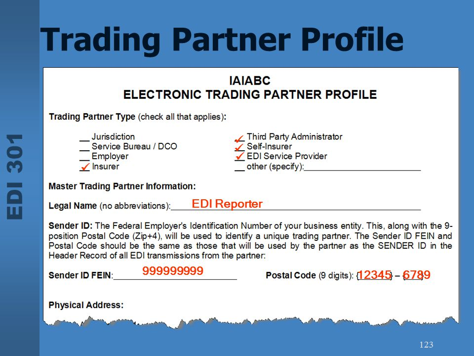 Trading Partner Profile