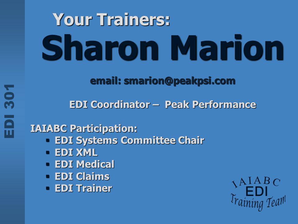 EDI Coordinator – Peak Performance