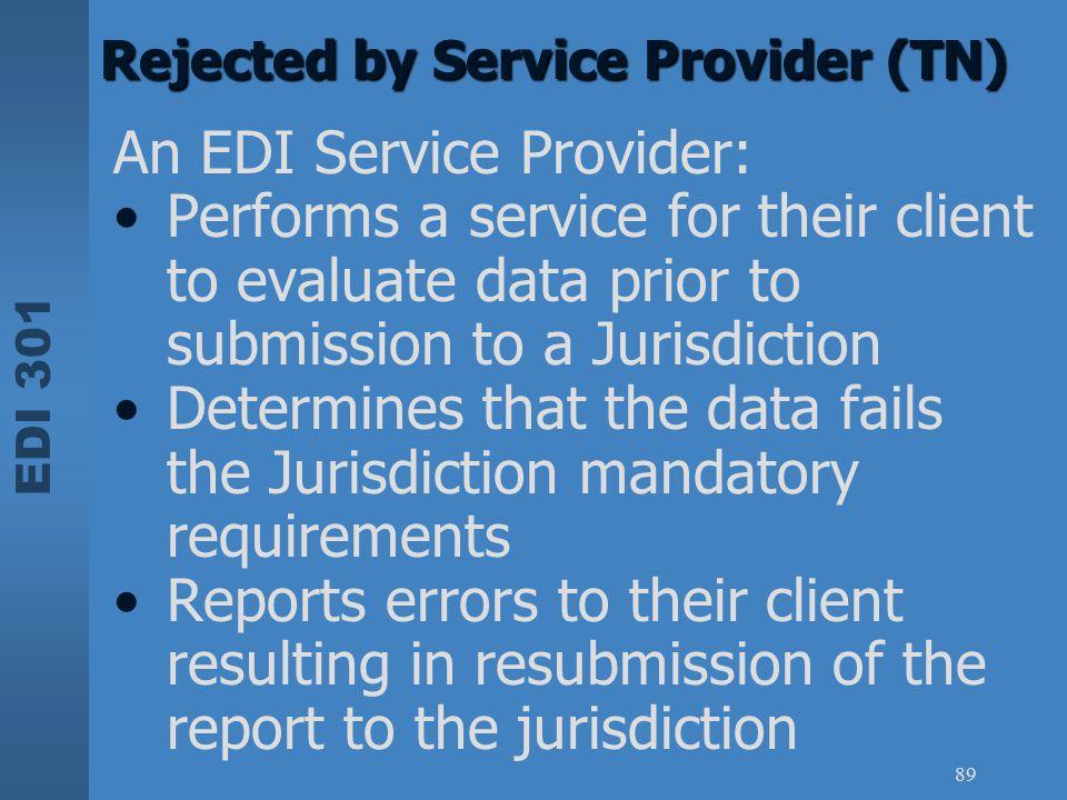 An EDI Service Provider: