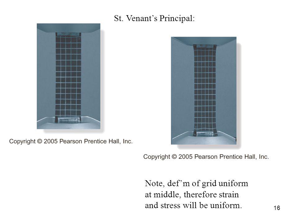 St. Venant's Principal: