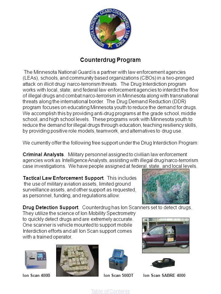 Counterdrug Program