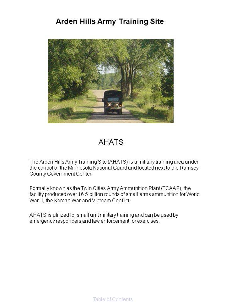 Arden Hills Army Training Site