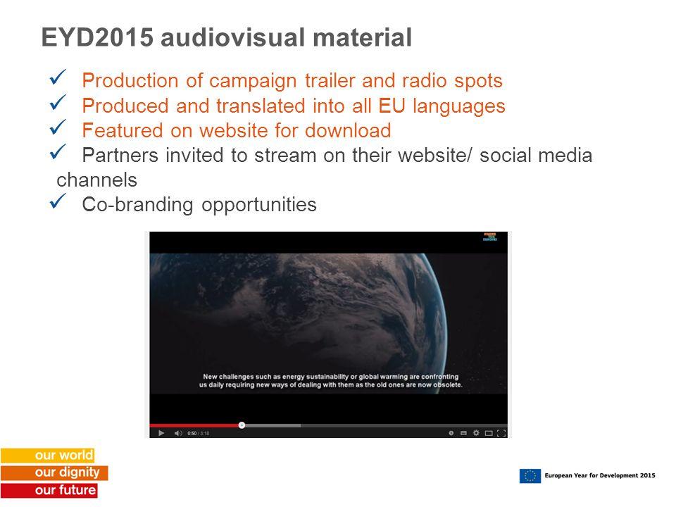 EYD2015 audiovisual material