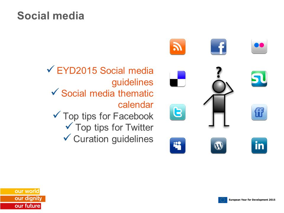 Social media EYD2015 Social media guidelines