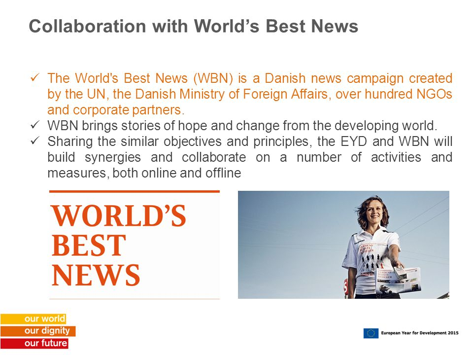 Collaboration with World's Best News