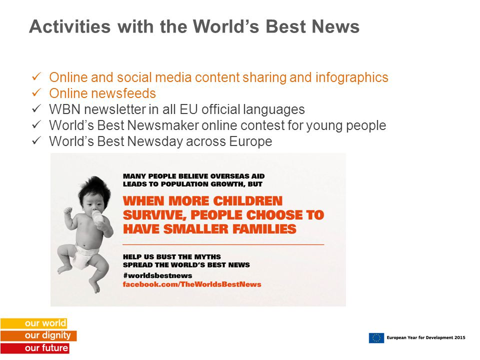 Activities with the World's Best News